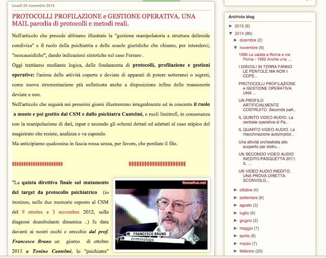 http://cdd4.blogspot.it/2014/11/protocolli-profilazione-e-gestione.html